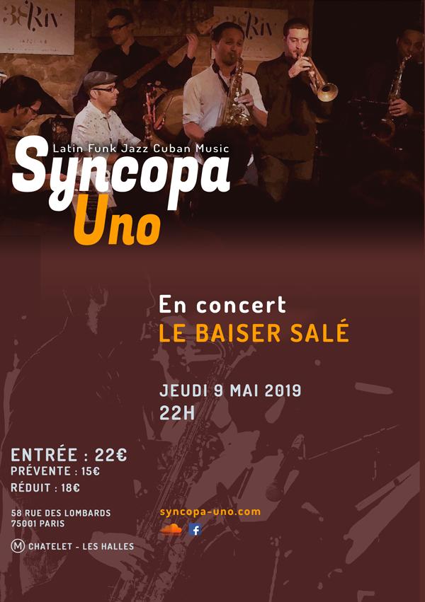 affiche-concert-syncopa-uno-baiser-sale-09-05-2019