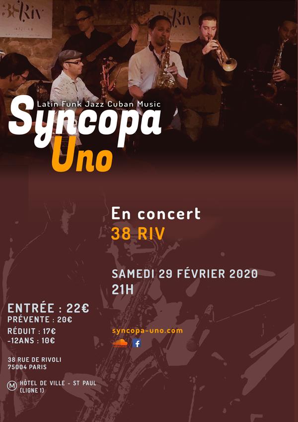 affiche-concert-syncopa-uno-38-riv-29-02-2020